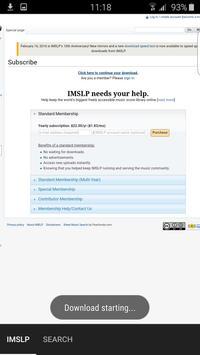 IMSLP Sheet Music apk screenshot