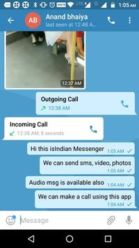 Indian Messenger, Message Sender screenshot 1