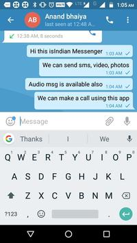 Indian Messenger, Message Sender screenshot 4