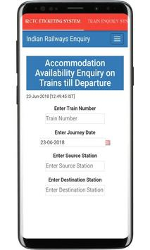 IRCTC eTicketing System - Train Tickets & Enquiry screenshot 3