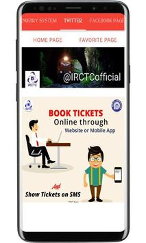 IRCTC eTicketing System - Train Tickets & Enquiry screenshot 4