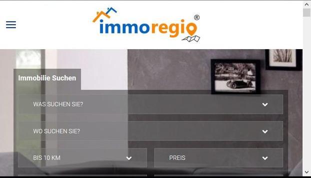 Immoregio_Immobilien_Wohnungen_Häuser screenshot 1