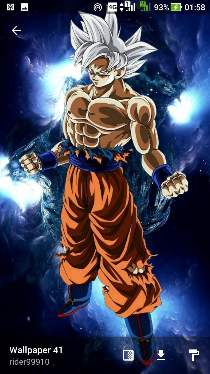 Ultra Instinct Goku Wallpaper For Android Apk Download