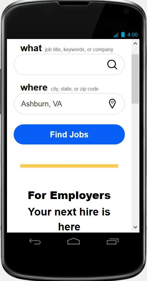 Indeed Job Search - Desktop Version for Android - APK Download