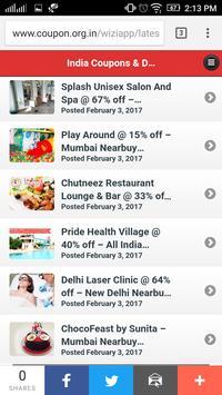 India Coupons & Deals screenshot 4
