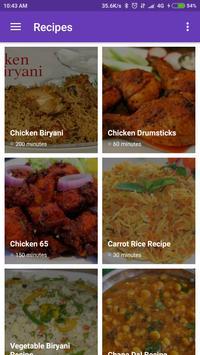 India Food Recipe poster