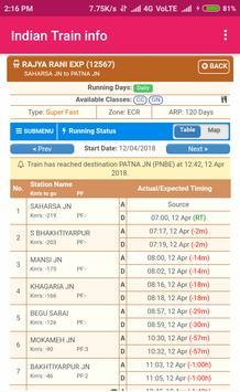 Indian Train Info screenshot 3