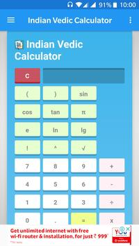 Indian Vedic Calculator poster