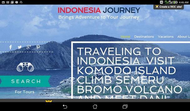 Indonesia Journey.Com apk screenshot