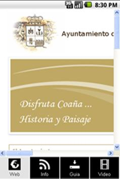 Ayuntamiento de Coaña poster