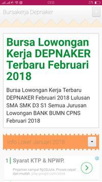 Info Kerja 2018 screenshot 2