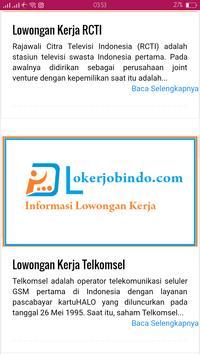 Info Kerja 2018 screenshot 3