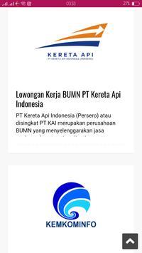 Info Kerja 2018 screenshot 4