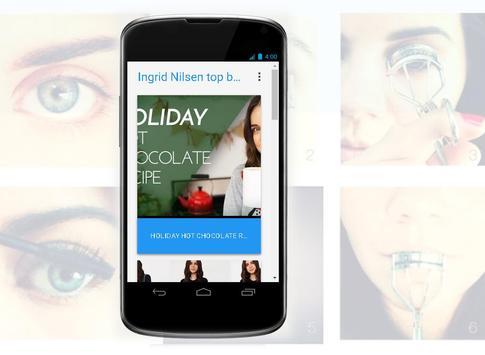 Ingrid Nilsen top blogger channel screenshot 3