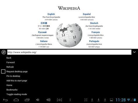 Internet Access Browser screenshot 3
