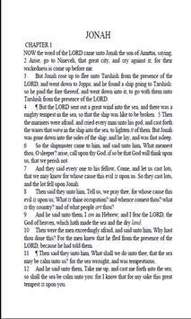 JONAH HOLY BIBLE apk screenshot