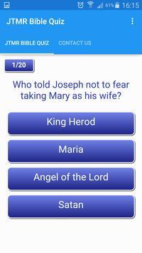 JTMR Bible Quiz apk screenshot