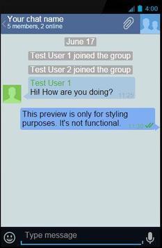 JTMR Messenger apk screenshot