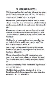 JUDE BIBLE apk screenshot