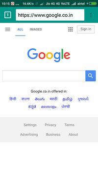 JaiHind Browser screenshot 1