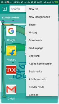 JaiHind Browser screenshot 2