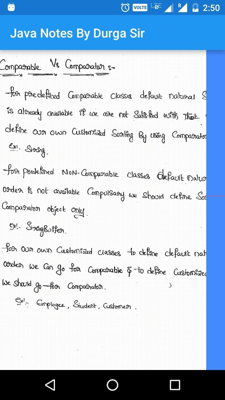 Durga Sir Core Java OCJP SCJP Handwritten Notes for Android - APK