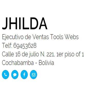 Jhilda - Tarjeta Digital apk screenshot