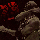 23 is Back icon