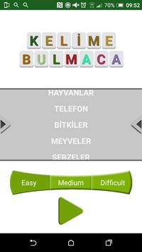 KELİME BULMACA poster