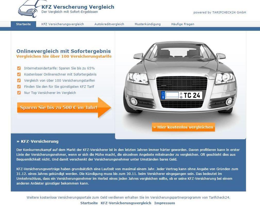 Kfz Versicherung Vergleich For Android Apk Download