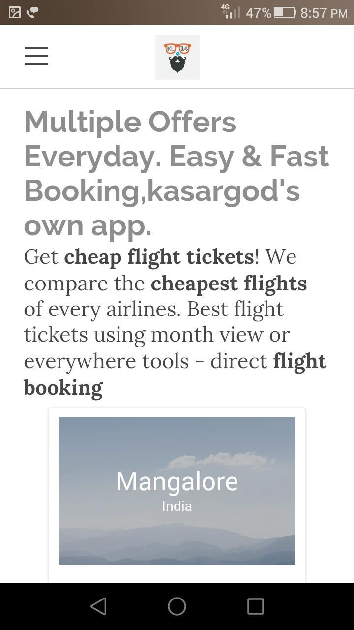 KL-14 -Cheap flight tickets for Android - APK Download