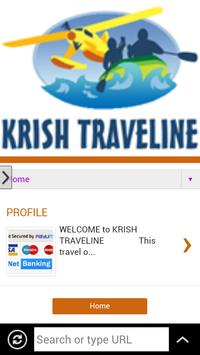 KRISH TRAVELINE APP apk screenshot
