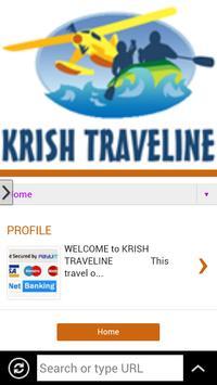 KRISH TRAVELINE APP poster