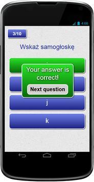 KUJON Klasa 2 j.pol Samogłoski apk screenshot