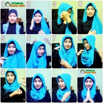 Kamus Tutorial Hijab poster