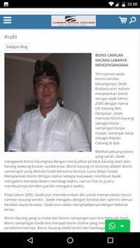 Kacang Bali screenshot 4