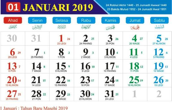 Kalender 2018 2019 lengkap hari libur para android apk baixar kalender 2018 2019 lengkap hari libur imagem de tela 1 stopboris Image collections