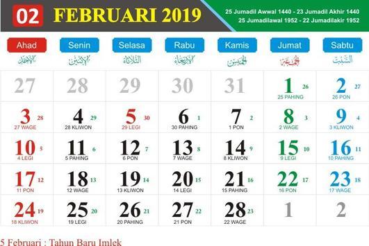 Kalender Nasional 2019 screenshot 1