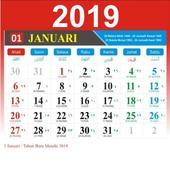 Kalender Indonesia Tahun 2019 icon