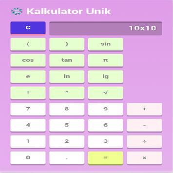 Kalkulator apk screenshot