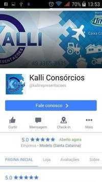 Kalli Consórcios apk screenshot