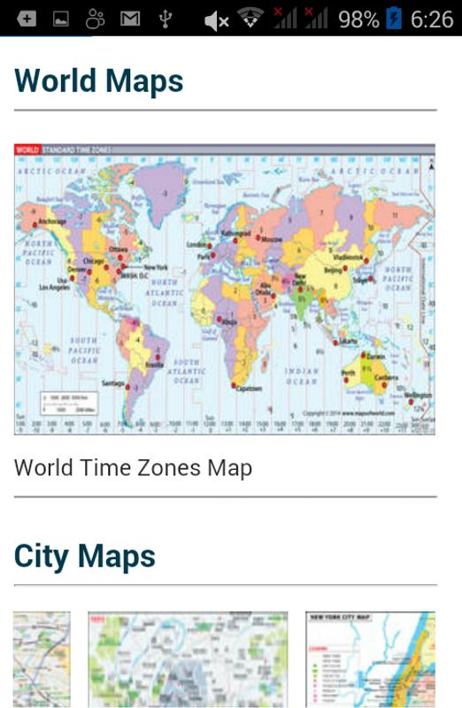 World map. Cities countries for Android - APK Download