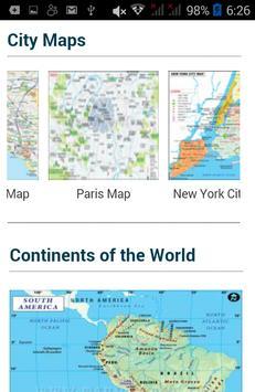 World map cities countries descarga apk gratis viajes y guas cities countries poster world map cities countries captura de pantalla de la apk gumiabroncs Gallery