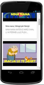 Kenge & Perralla Per Femije screenshot 2
