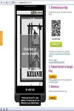 Keianh apk screenshot