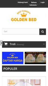 Kelambu Golden Bed poster