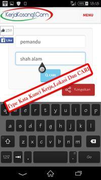 Kerja Kosong Terkini Malaysia apk screenshot