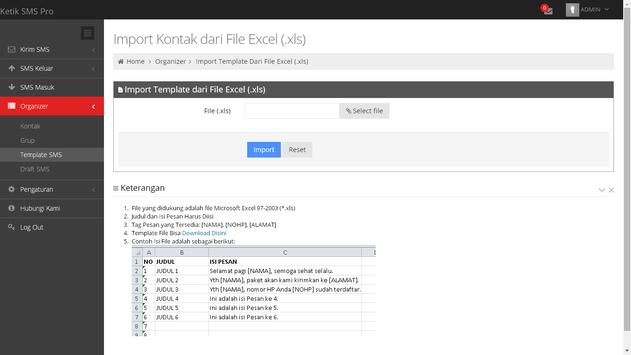 KetikSMS PRO apk screenshot