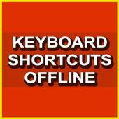 Keyboard Shortcuts Offline - Free icon