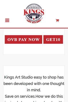 Kings Art Studio poster